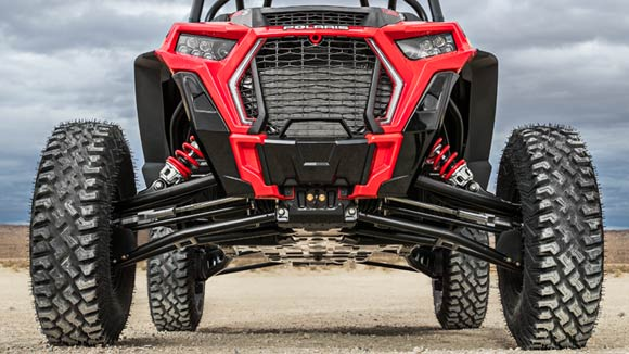 RZR XP® Turbo S - GARDE AU SOL INCROYABLE DE 36 CM